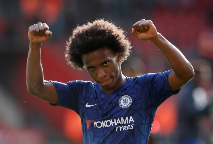 Willian hails Chelsea