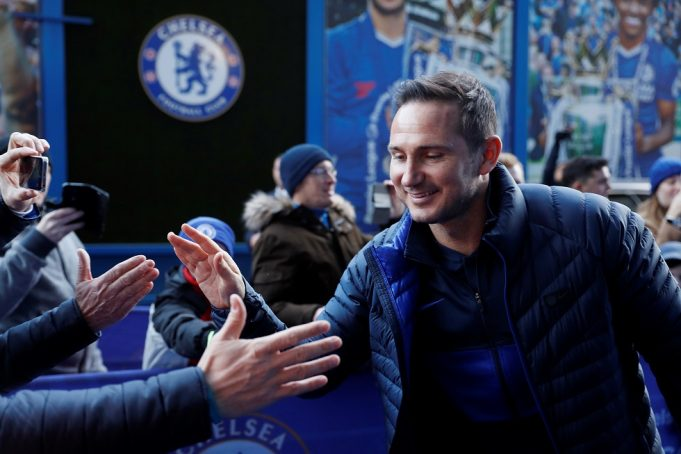 Bruce praises great boss Lampard