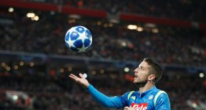 Chelsea In Talks With Napoli Over Dries Mertens