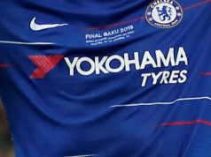 How will Chelsea's jersey look with the new Three sponsor