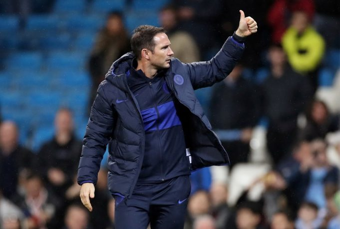 Lampard speaks highly of Chelsea winger after FA cup match