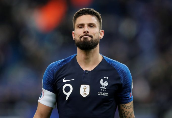 Olivier Giroud's move from Chelsea to Inter Milan in doubt