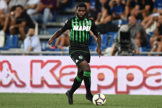Brighton and Hove Albion to battle Chelsea for winger Jeremie Boga