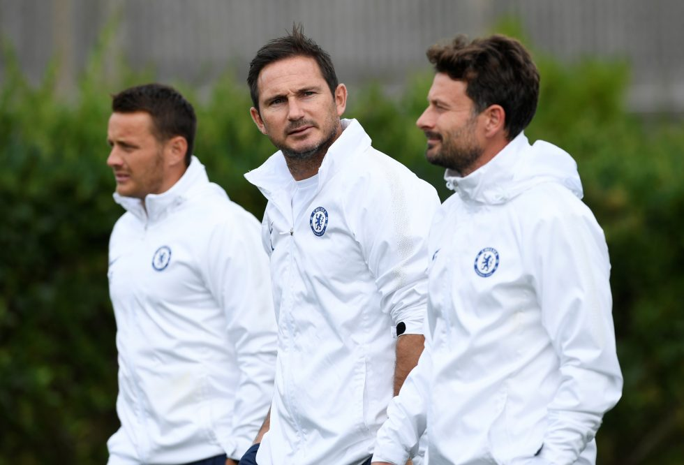 Chelsea FC Management Team 2020