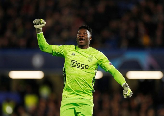 Chelsea agree deal with Ajax goalkeeper Andre Onana