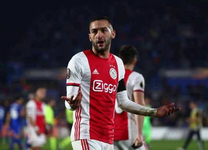 Chelsea reveal official details of Hakim Ziyech's summer move from Ajax