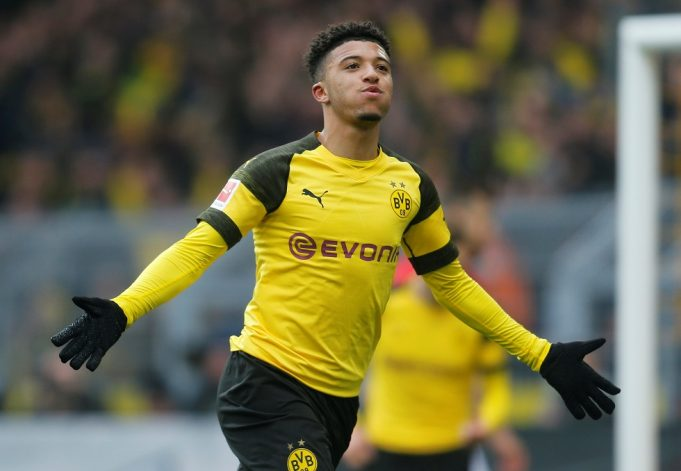 Chelsea want Sancho - Dortmund charge £100m