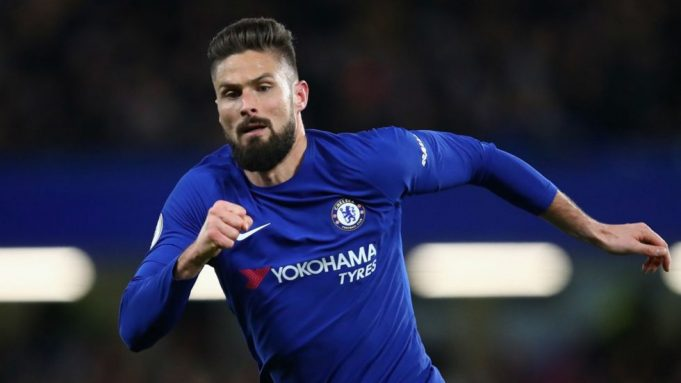 Giroud and Azpi reveling in Chelsea win