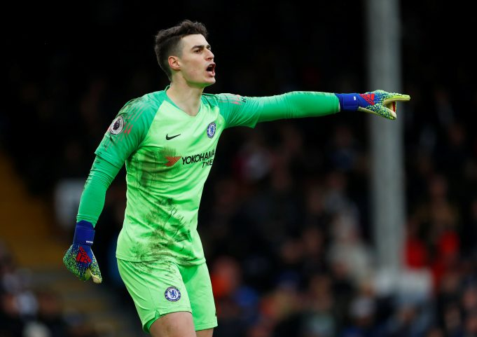 Goalkeeper Kepa Arrizabalaga pushing for Chelsea summer exit