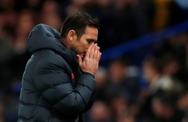 Lampard does not like to lose after 2-0 United defeat
