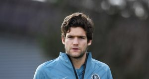 Marcos Alonso Blasted For His Red Card Incident In Bayern Munich Defeat