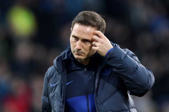 What Lampard biggest problem is at Chelsea