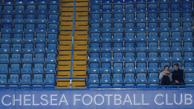 Behind closed doors: No more watching Chelsea live