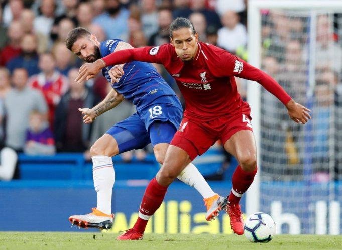 Chelsea vs Liverpool Head To Head