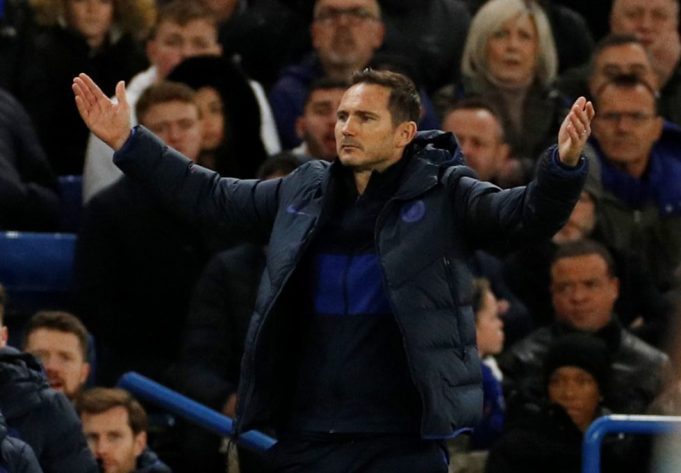 Frank Lampard frustrated by Chelsea