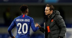 Lampard: Hudson-Odoi is recovering well from coronavirus