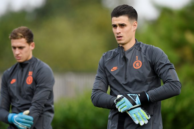 Lampard puts his foot down on Kepa's dwindling Chelsea career