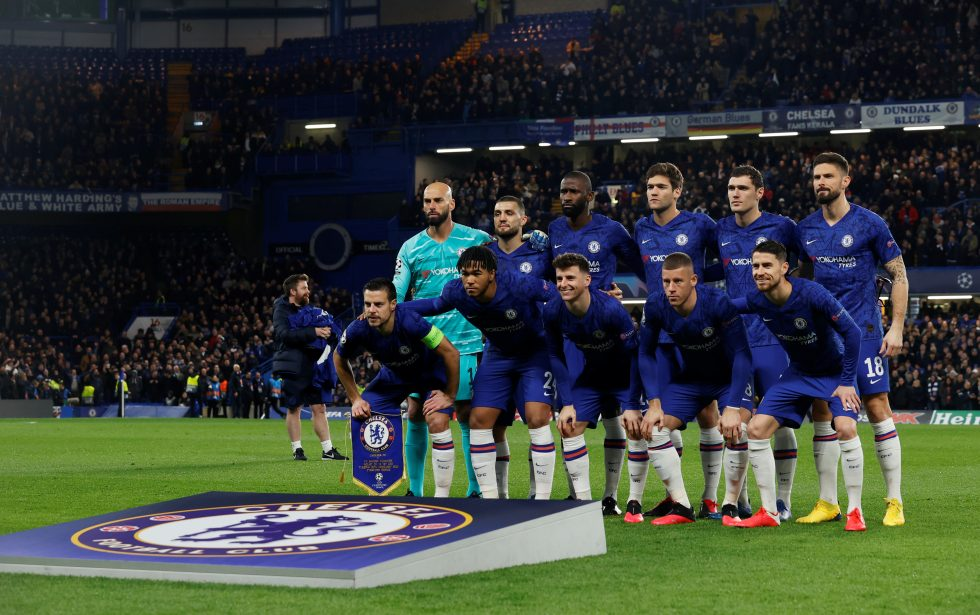 Chelsea FC Players and their Countries 2020