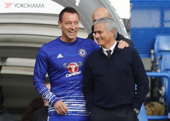 John Terry reminisces memories of Prime Mourinho