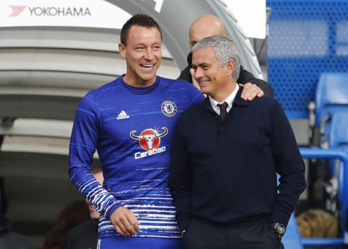 John Terry reminisces memories of Prime Mourinho
