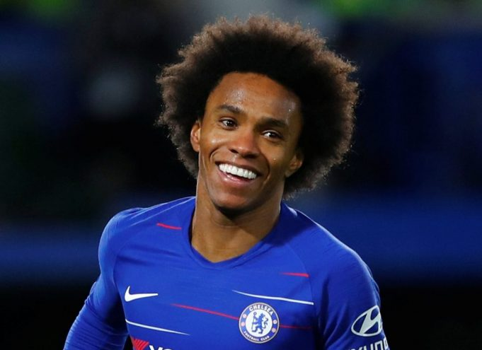 Newcastle United On Willian's Tail As Brazilian Nears Chelsea Exit