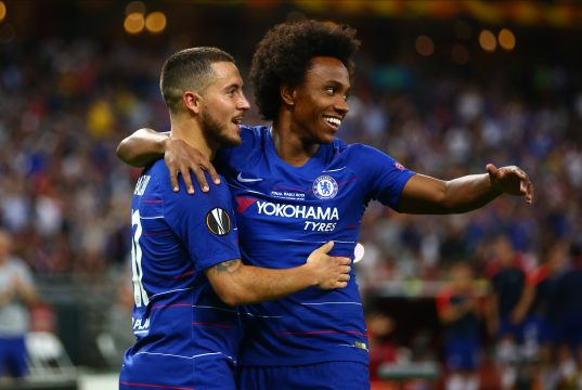 Willian: Chelsea expected Hazard to leave