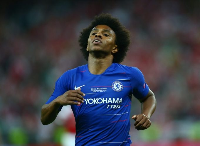 Willian called out for his contract drama with Chelsea