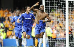 Ballack Van Dijk should be happy he is not playing against Drogba