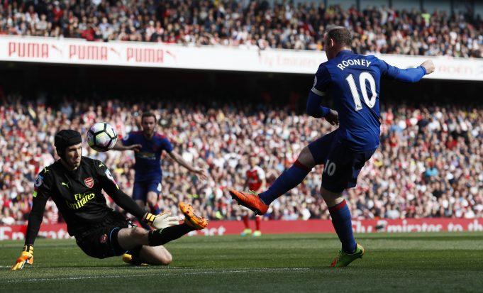 Cech: Rooney was my toughest opponent