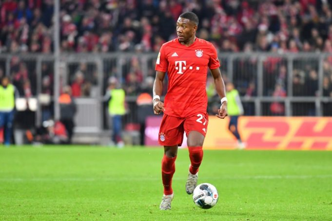 Frank Lampard Wants David Alaba's Versatility In Chelsea Squad