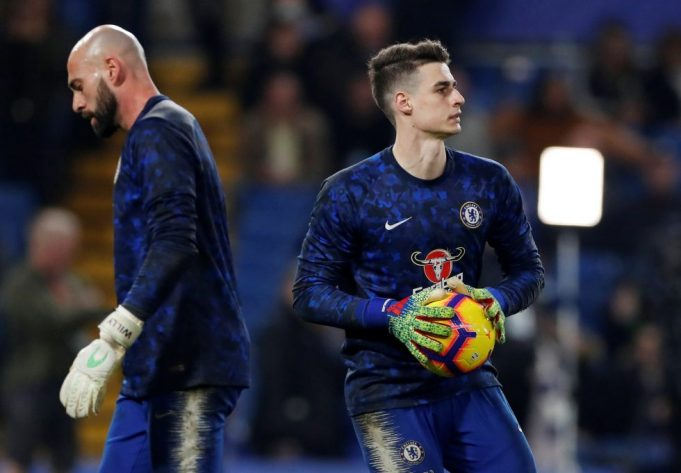 Frankly, Lampard wants Kepa out!