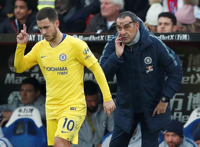 Zola reveals rifts between Hazard, Willian vs Sarri
