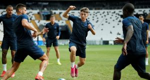 Billy Gilmour out for four months after knee injury