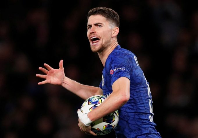 Chelsea planning Rice bid by funding Jorginho sale