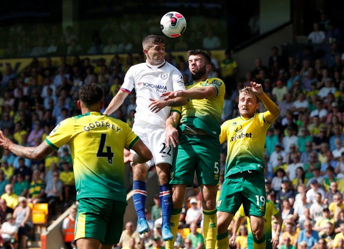 Chelsea vs Norwich City Head To Head