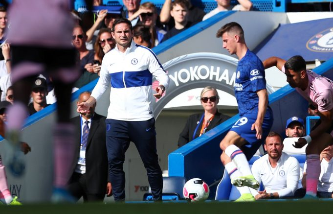 Lampard Admits To Relying A Lot On Mason Mount