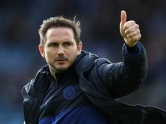 Lampard hails Chelsea dressing room 'leadership'