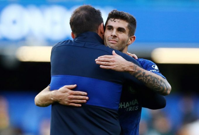 Lampard thrilled with Pulisic success