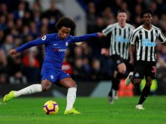 Lampard Admits Willian's Future At Chelsea Is His Decision