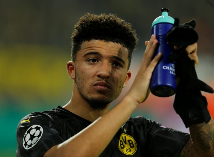 Sancho tipped to join Chelsea amid United links