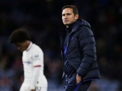 Frank Lampard blames two players for embarrassing first-half performance