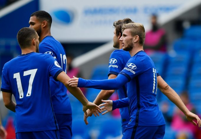 Timo WernTimo Werner Settling In Well With Chelsea Teammateser Settling In Well With Chelsea Teammates