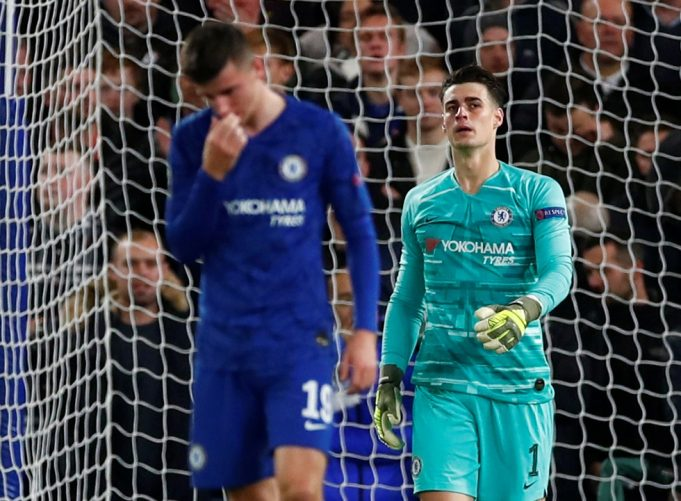 Frank Lampard decides not to blame Kepa after Southampton mishap