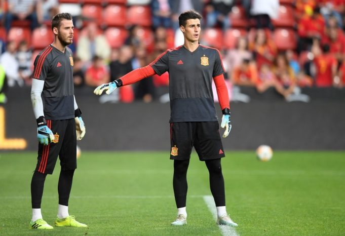 Kepa Vows To Win Back Starting Spot At Chelsea