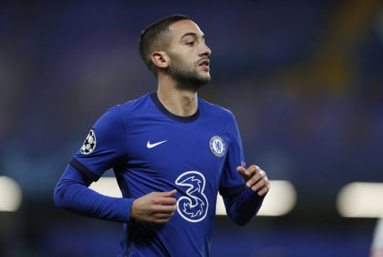 Lampard Admits He Is Struggling To Involve Ziyech In Squad