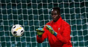New signing Edouard Mendy trains ahead of Sevilla clash