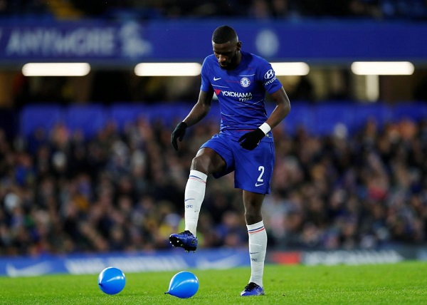 Antonio Rudiger was in the squad for the first time this season in the United draw on Saturday. And he could appear for the first time in this year's campaign against Russian side FK Krasnodar in the Champions League on Wednesday. The German defender spoke to Frank Lampard about his involvement in the squad.