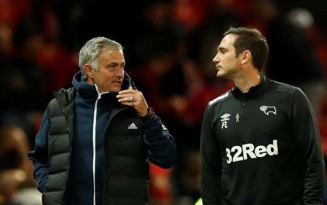Frank Lampard Backs Mourinho's Fixture Complaints Ahead Of Derby