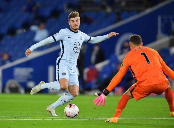 Frank Lampard not willing to rest Timo Werner
