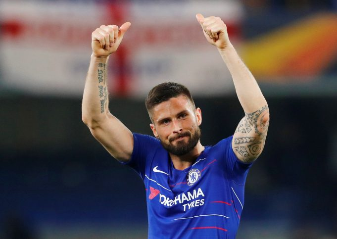 Frank Lampard explains Olivier Giroud's situation at Chelsea